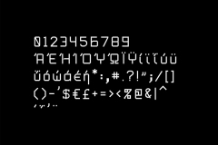 Lulu Monospace Special Characters