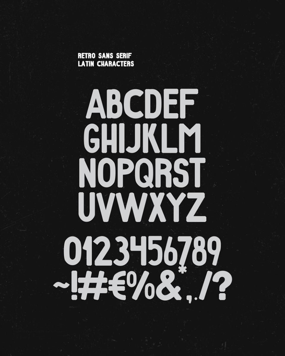 Retro-Sans-Serif-Free-Font