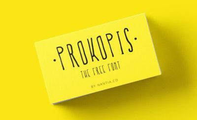 Prokopis Δωρεάν Γραμματοσειρά