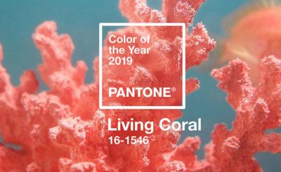 Pantone χρώμα 2019