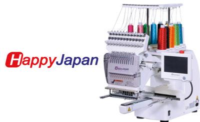 Ψηφιακές Κεντητικές Μηχανές Happy Japan