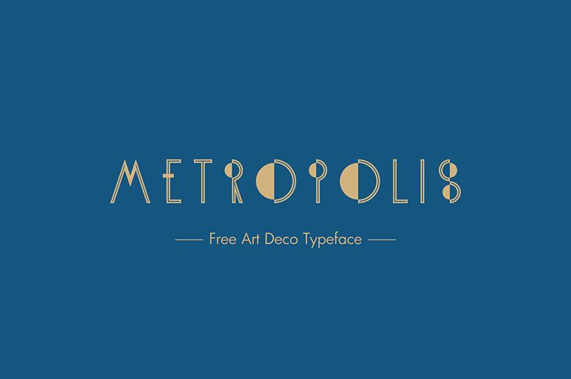 KH-Metropolis free font από τον Κώστα Χατζόπουλο