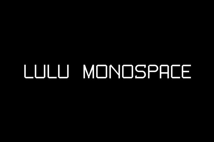 Lulu Monospace Δωρεάν γραμματοσειρά