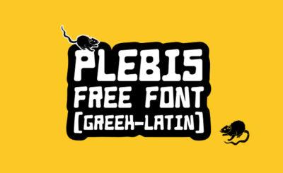 Plebis Free Font