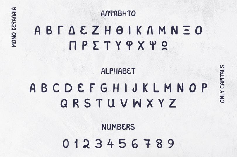 Salonikia VKF Free Font