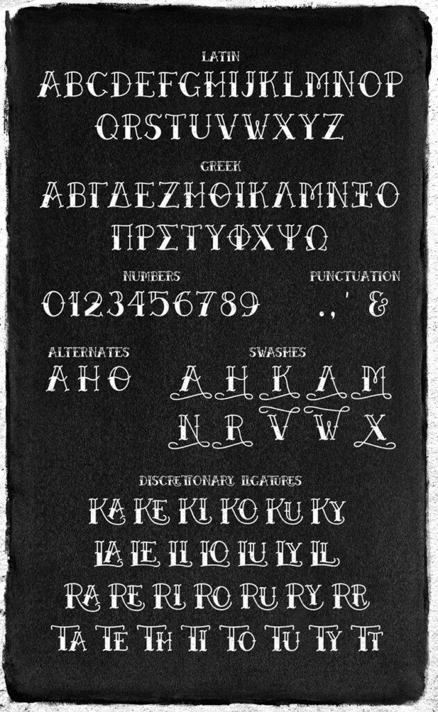 Betty & Black Betty free fonts