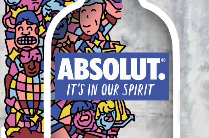 THE ABSOLUT MURAL